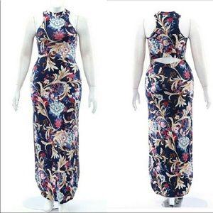 ✨Floral maxi dress